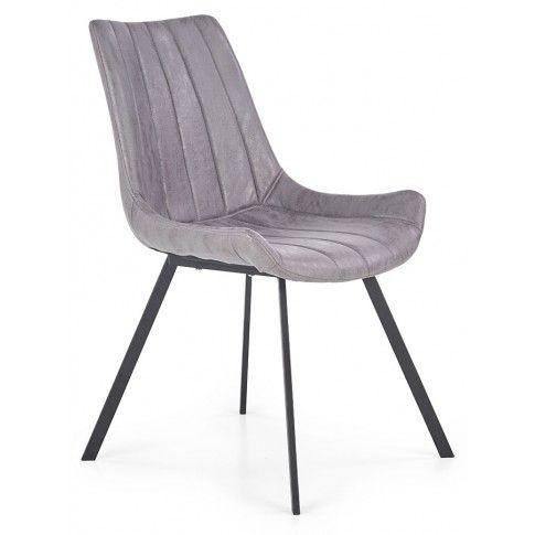 Zdjęcie produktu Krzesło industrialne Faran - popiel.