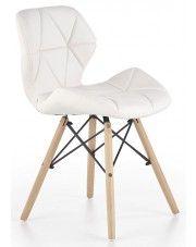 Krzesło skandynawskie Dagon - białe