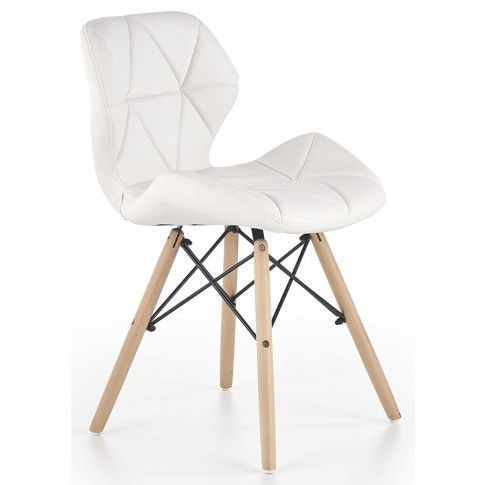 Zdjęcie produktu Krzesło skandynawskie Dagon - białe.