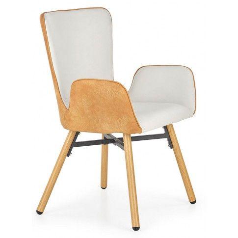 Zdjęcie produktu Krzesło z podłokietnikami Simon - jasny popiel.