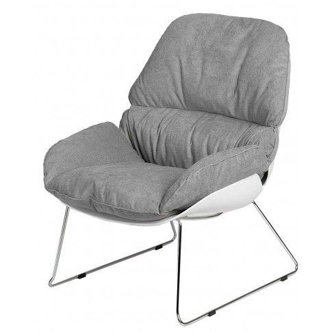Zdjęcie produktu Fotel wypoczynkowy Galias - szary.