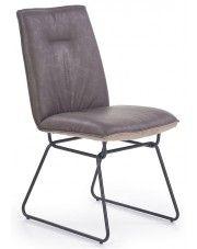 Krzesło loftowe Viler 2X - popiel w sklepie Edinos.pl