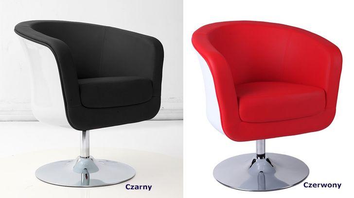 Designerskie fotele Novel - komfortowe