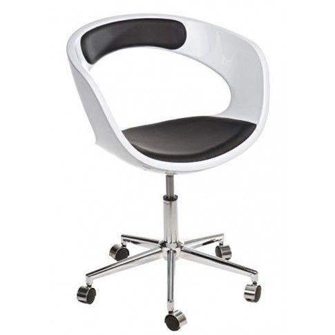 Zdjęcie produktu Fotel biurowy Atlant - biało - czarny.
