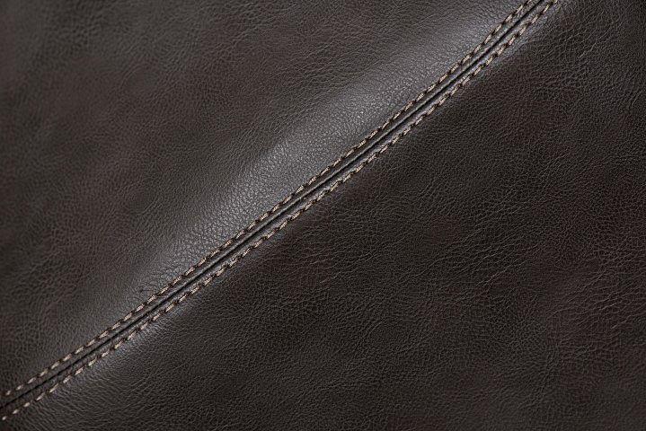 Stylowy fotel biurowy Voster - brązowy