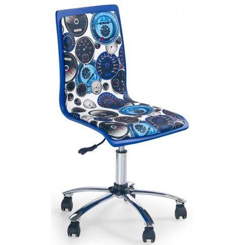 Zdjęcie produktu Fotel młodzieżowy Gimmer - niebieski.