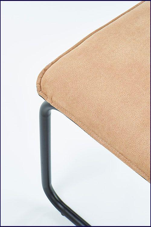 Industrialne krzesło beżowe do jadalni Imker 2X