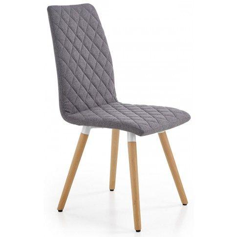Zdjęcie produktu Krzesło pikowane Corden - popielate.