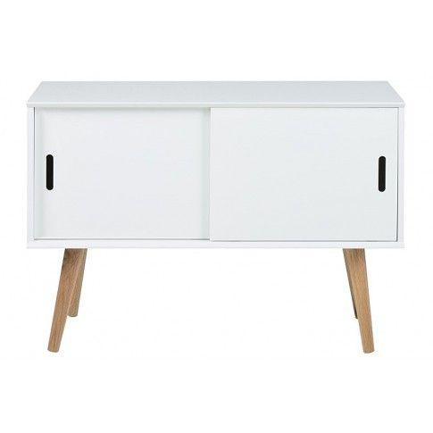 Zdjęcie produktu Szafka skandynawska Sfiena 2X - biała.
