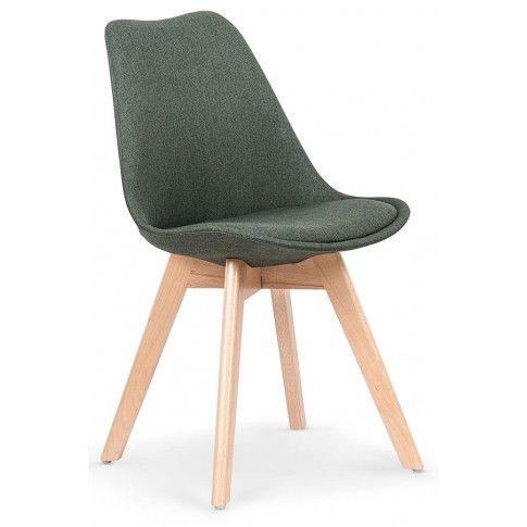 Zdjęcie produktu Krzesło drewniane Nives - zielone.