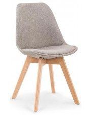 Krzesło drewniane Nives - jasny popiel