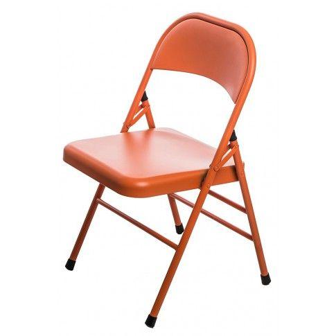 Zdjęcie produktu Krzesło Ledox - pomarańczowe.