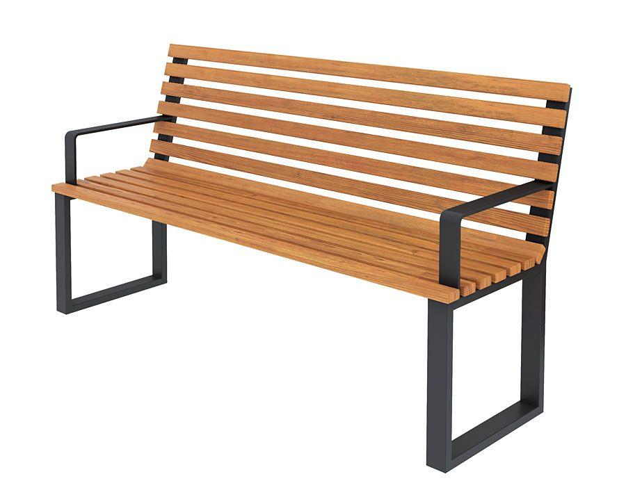 Nowoczesna ławka Ogrodowa 150 Cm Zeris Sklep Edinospl