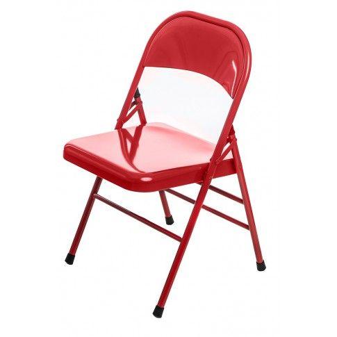 Zdjęcie produktu Krzesło Ledox - czerwone.