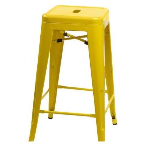 Zdjęcie produktu Nowoczesny hoker Parka - żółty.