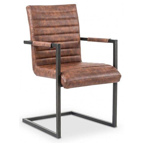 Zdjęcie produktu Krzesło industrialne Dimon - brązowe.
