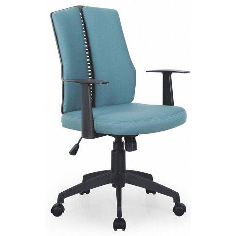 Zdjęcie produktu Fotel obrotowy Rexor - turkusowy.
