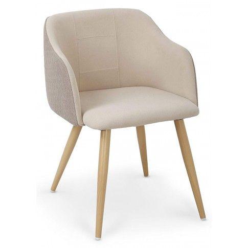 Zdjęcie produktu Krzesło tapicerowane Limer - beżowe.