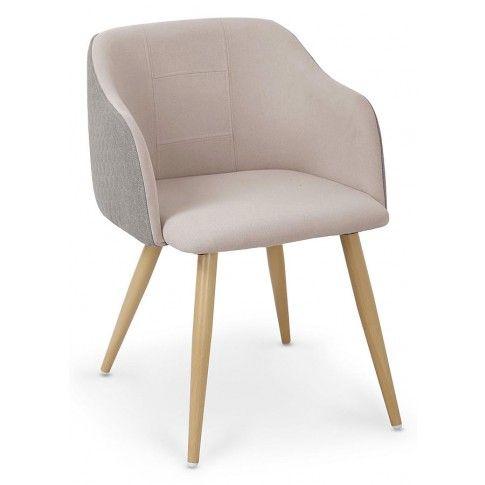 Zdjęcie produktu Krzesło Limer - beżowe + popiel.