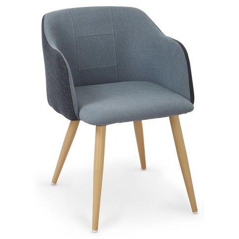 Zdjęcie produktu Krzesło z printem Limer - niebieskie.