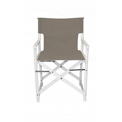 Zdjęcie produktu Rozkładane krzesło Broks - szare.