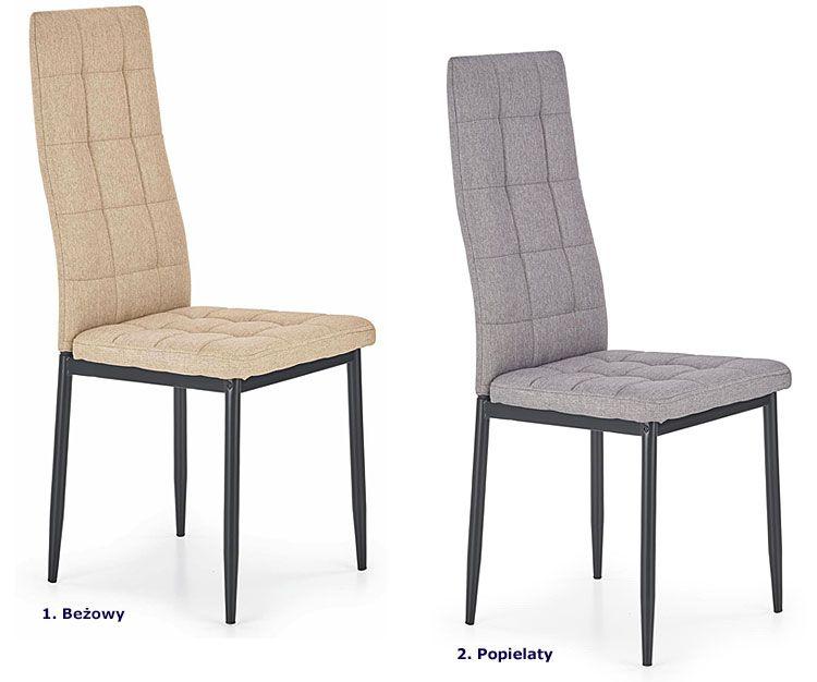 Pikowane krzesło kuchenne Erfan