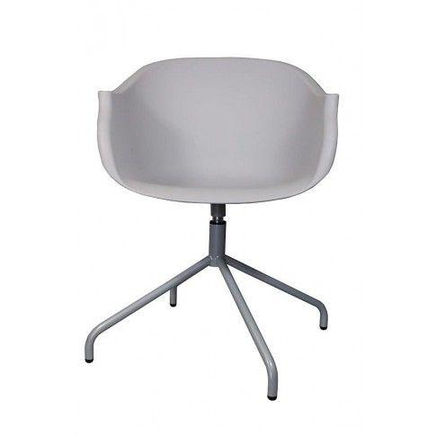 Zdjęcie produktu Krzesło obrotowe Dubby - szare.