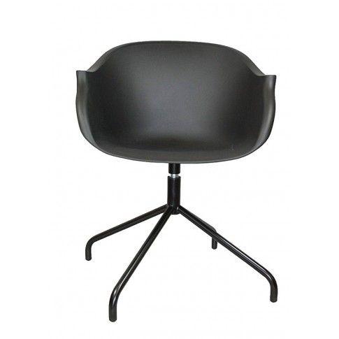 Zdjęcie produktu Krzesło obrotowe Dubby - czarne.