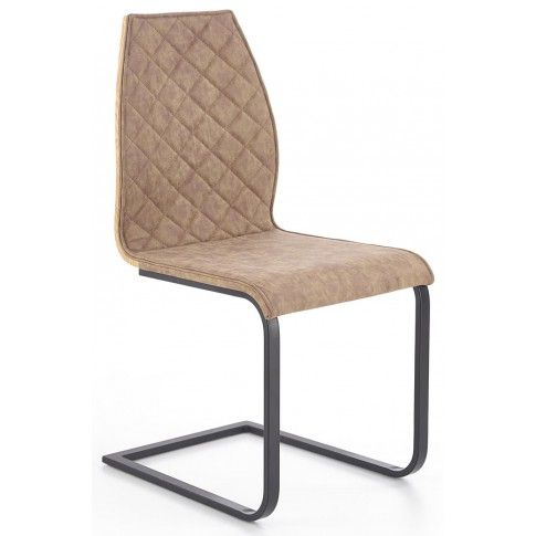 Zdjęcie produktu Krzesło industrialne Alsen - brązowe.