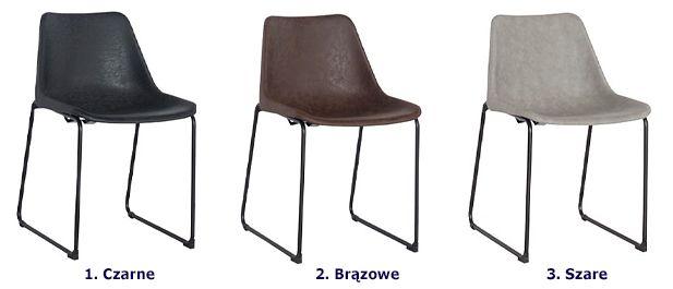 Vintage krzesło Melbro - metalowe