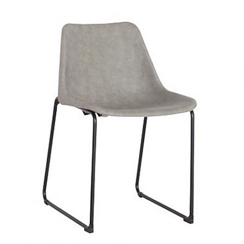Zdjęcie produktu Krzesło vintage Melbro - szare.