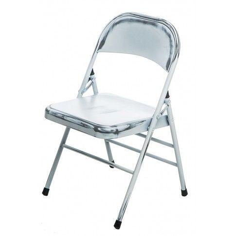 Zdjęcie produktu Loftowe krzesło Ledox 2X- białe.