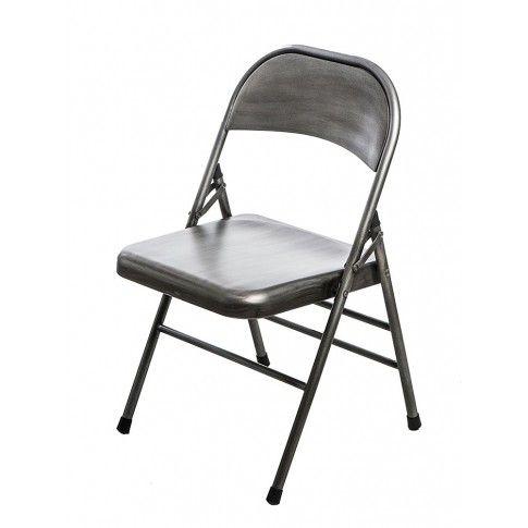 Zdjęcie produktu Loftowe krzesło Ledox 2X- srebrne.