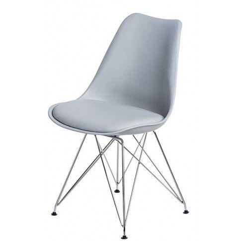 Zdjęcie produktu Krzesło Nikel - szare.
