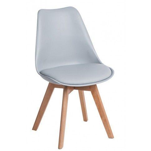 Zdjęcie produktu Krzesło skandynawskie Netos 2X - szare.