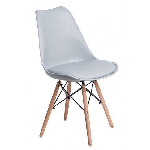 Zdjęcie produktu Krzesło skandynawskie Netos 3X - szare.