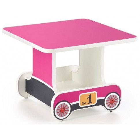 Stolik Dla Dziewczynki Wagonik Milo 3x Różowy