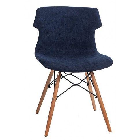 Zdjęcie produktu Krzesło Zalan - niebieskie.
