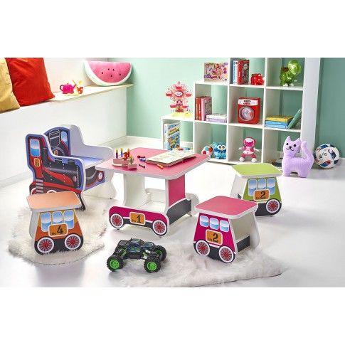 Zdjęcie produktu Zestaw mebli do pokoju dziecka pociąg Milo.