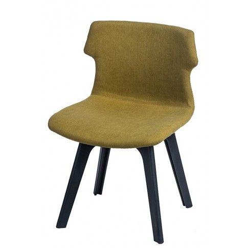 Zdjęcie produktu Krzesło vintage Duno - ciemnozielone.