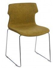 Krzesło vintage Presid - ciemnozielone