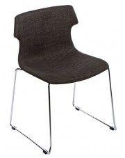 Krzesło vintage Presid - brązowe