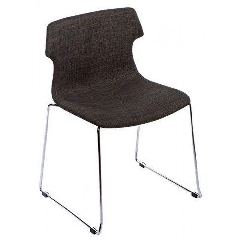 Zdjęcie produktu Krzesło vintage Presid - brązowe.