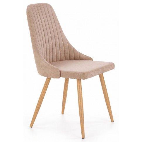 Zdjęcie produktu Krzesło tapicerowane Isent - beżowe.