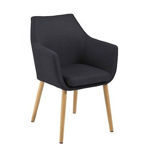 Zdjęcie produktu Fotel vintage Elpro - czarny.