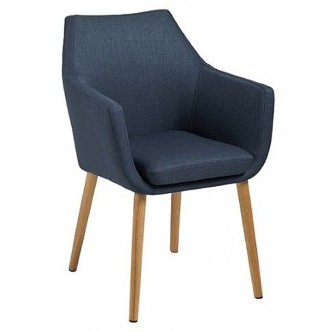 Zdjęcie produktu Fotel vintage Elpro - granatowy.