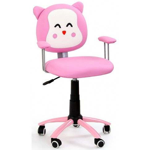 Zdjęcie produktu Fotel dziecięcy Tobi - różowy.