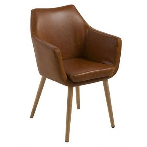 Zdjęcie produktu Fotel Elpro 2X- brązowy.