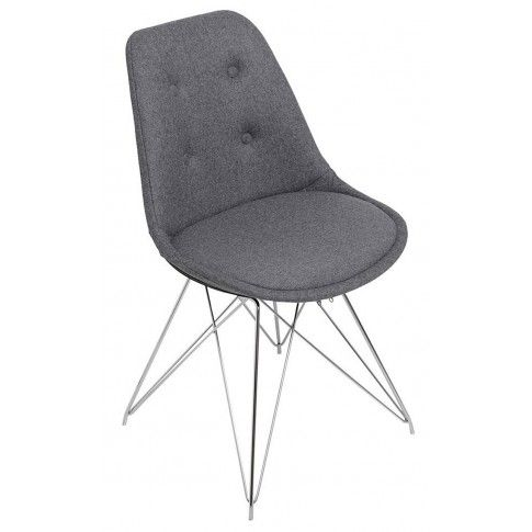 Zdjęcie produktu Krzesło Luko - szare.