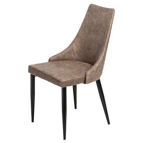 Zdjęcie produktu Krzesło Carano - brązowe.
